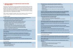 Trans Employment Checklist