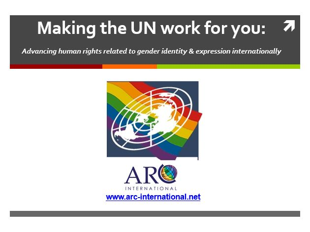 Making the UN Work Arc