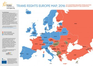 the trans rights europe map 2016
