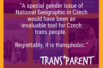 A special gender issue of National Geographic in Czech would have not only been an invaluable