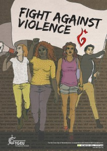 Poster - Fight Against Violence