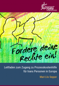 Cover Image of the claim your rights guide in German